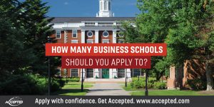 How Many Business Schools Should you Apply to?
