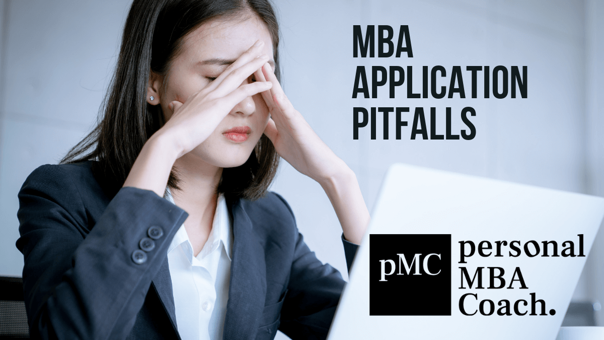Personal MBA Coach's MBA Application Pitfalls Presentation Preview